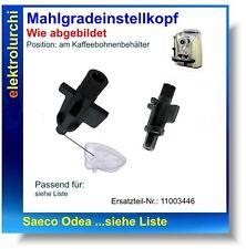 Mahlgradeinstellkopf, Adapterknebel, Mahlgrad Saeco Odea Go Giro... Nr.11003446