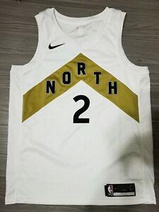 Kawhi Leonard Nike Toronto Raptors OVO City Edition Swingman Jersey Size 48/L