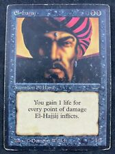 MTG Magic The Gathering El-Hajjaj Arabian Nights HP