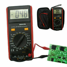 Bm4070 Lcr Meter Self-Discharge Resistance Capacitance Inductance Tester + Clips