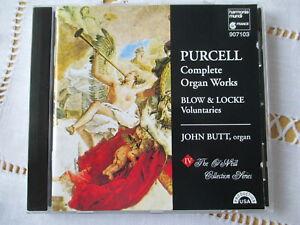 Purcell - Complette Ogan Works - Blow & Locke - Voluntaries - John Butt - CD