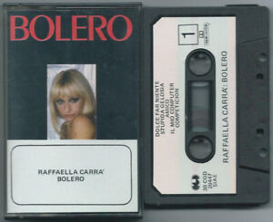 CASSETTE TAPE MC RAFFAELLA CARRA' Bolero (Cgd 84) 1° stampa Italo disco pop NM!