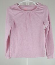 H&M Basic Size 4-6Y Pink organic cotton Long Sleeve Top