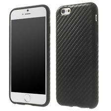 TPU-Case cassa telefono cellulare per Apple iPhone 6s CARBONIO Nero Protezione/
