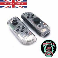 Clear Transparent Housing Shell Case for Nintendo Switch Joy-Con controllers UK