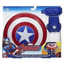 Los Vengadores Vengadores Marvel Capitán América Escudo Magnético Y Guante
