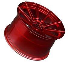 18x9.5/10.5 XXR 567 5x100/114.3 +20 Candy Red Rims New Set