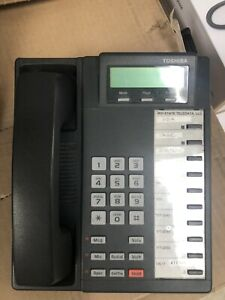 Toshiba DKT2010-SD Digital Key Telephone Phone Desk Reconditioned With New Cords