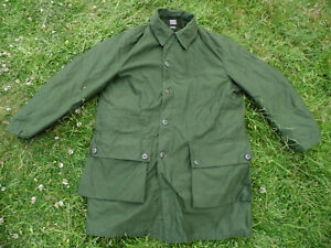 """Vintage Norsel Swedish Army Military Jacket Parka Coat Size C50, 46"""" Chest"""