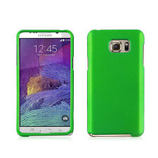 NEW FOR SAMSUNG Galaxy Note 5 PHONE GREEN 2-PC RUBBERIZED HARD SKIN COVER CASE
