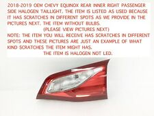Tail Lights for 2018 Chevrolet Equinox for sale   eBay