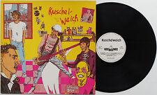 "Kuschelweich - S/T LP aka ""Ich Küsse Dich"" Rotzkotz Hans-A-Plast Hannover Punk"