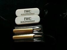 IWC Holder Vintage 100% Original & Rare - IWC Tag & Pusher Set
