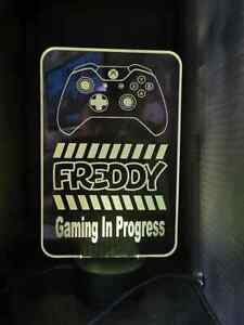 xbox gaming controller Night Light  LED Desk Table Lamp.  personalised