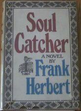 SOUL CATCHER by Frank Herbert, DUNE Author,1st, SIGNED,HC,DJ,c1972 RARE