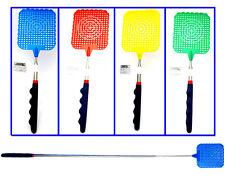 "4pk 28-5/16"" Telescopic Extendable Fly Swatter Manual Swat Pest Control Set"