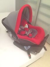 Peg Perego Primo Viaggio 4-35 Infant Car Seat TULIP (red with Grey) With BASE