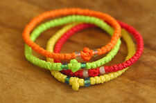 4 x Funky Colour Chotki Prayer Rope Komboskoini Bracelets Greek Russian Orthodox