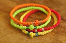 4 x Funky Colour Chotki Prayer Rope Komboskoini Bracelets Greek Russian Orthodox