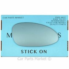 Right side Blue Wing door mirror glass for Porsche 968 1992-1995