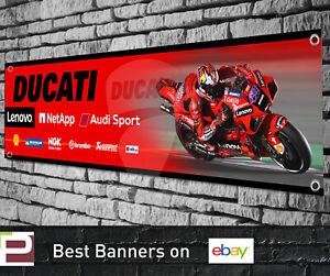 Ducati Lenovo Racing 2021 Moto GP Banner for Garage, Workshop, Sign, Jack Miller