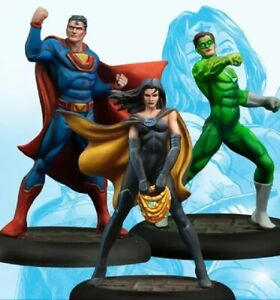 35mm Resin Figure Model Kit SuperMan Green Lantern Wonder Woman Unpainted