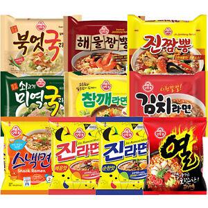 Ottogi Ramen Ramyun Ramyeon Korean Instant Noodle Collection K Food
