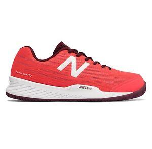 New Balance Women's 896 V2 Tennis Shoes Size 9.5 WCH896V2 Vivid Coral