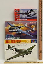 1:72 Scale WW2 Aircraft Model Kits Vought Kingfisher P-38 Pathfinder Junker JU52