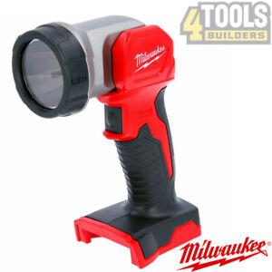 Milwaukee M18TLED-0 M18 18v Li-Ion Cordless LED Torch Light Body Only