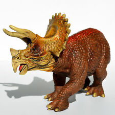 8'' Realistic Triceratops Solid Plastic Dinosaur Figure Educational Toy Trike