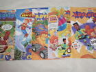 Lot 6 Burger King Kids Club Adventures Leaflet: Vol 5 Issue 1/3, Vol 6 Issue 1/3