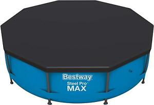 Bestway 12ft Steel Pro / Pro MAX Frame Pool Cover BW58037