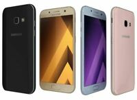 """Samsung Galaxy A3 A320F (2017)  - 4.7""""- 13MP - 16GB - LTE - Unlocked Smartphone"""