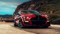 """2020 Ford Mustang Shelby GT500 Auto Car Art Silk Wall Poster 24x36"""""""