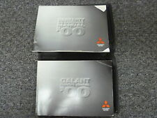 2000 Mitsubishi Galant Sedan Owner Manual User Guide DE ES LS GTZ V6 2.4L 3.0L