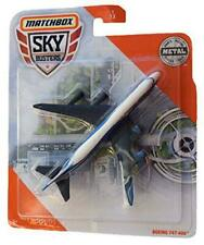 Matchbox Sky Busters Boeing 747-400 1/13, White/Blue