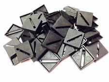 Bases BNIB 20mm Square Slotted x 100  100BASE20SQ