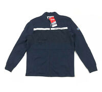 Puma BMW Motorsport Full Zip Navy Blue White Mens Large Sweat Jacket 575256-01