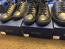 Armani Jeans Mens Action OM565 Low Lace-Up Casual Fashion Sneakers Shoes Kicks