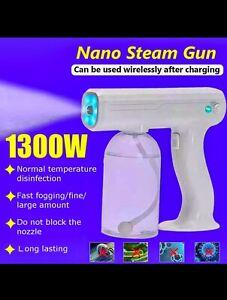 800ml Nano Spray Steam Gun Fog Disinfectant Machine 1300w