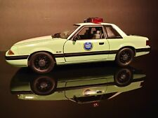 1/18 GMP 1988 Ford Mustang United States Border Patrol SSP 2017 New Release MIB