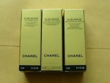 CHANEL Sublimage  La Creme Eye Cream, Face Scrub, Restoring Cream.