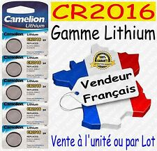 Piles/Battery Lithium 3V CR1216 CR2032 CR2025 CR2016 CR2430 CR2450 ( au choix )