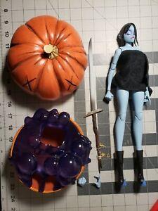 "ThreeA Crystal Jade Vaughan Hex Pumpkin Pi 1/6 12"" Ashley Wood Figure Pascha"