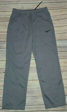 Mens NIKE Athletic Epic Grey Knit Training Pants Dri-Fit Sz.Large