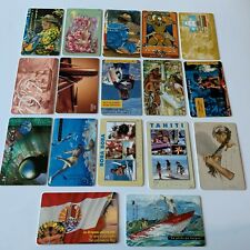 X17 FRENCH POLINESIA PHONECARDS