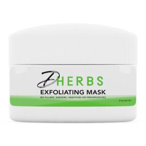 Dherbs Facial Exfoliating Mask, 2 Oz.