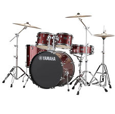 Yamaha Rydeen Drum Kit, Burgundy Sparkle w/ Hardware & Paiste Cymbals RDP2F5-BGG