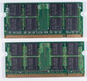 4GB DDR2 (2x 2GB) Laptop Memory 4 TOSHIBA L505D-ES5024 L505D-ES5025 L505D-ES5026